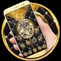 Royal Clock Gold Luxury icon