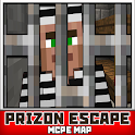 Побег из Тюрьмы Карта MCPE icon