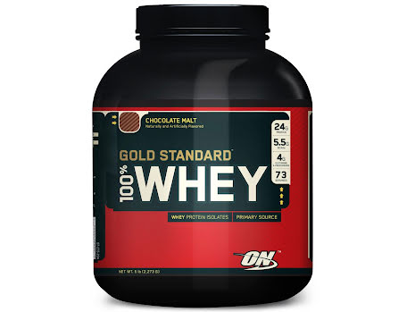 ON 100% Whey Gold Standard - Delicious Strawberry 2,27kg