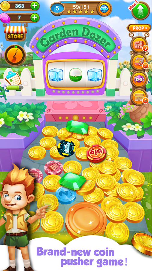how to get free coins on coin dozer android