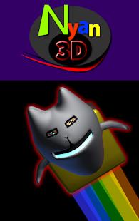 Nyan Cat 3d - náhled