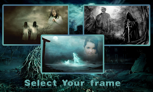 Ghost Cover Photo Frames - náhled