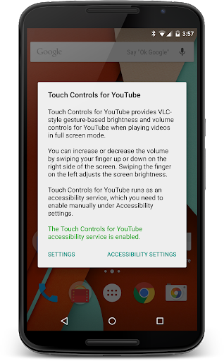 Touch Controls for YouTube