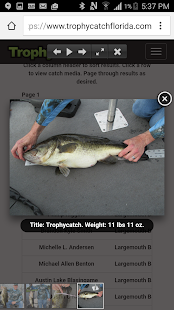 TrophyCatch Florida- screenshot thumbnail