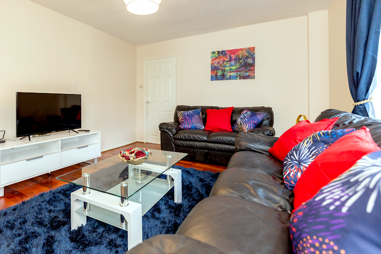 Chadwell Heath living room