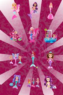 Mermaid princezna holky hry - náhled
