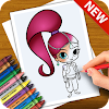 Learn to Draw Shimmer Characters and Shini Easy APK