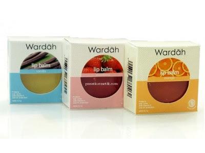 Lip Balm Wardah Lip Balm Orange Vanilla Strawberry WARDAH lipbalm pelembab bibir vitamin e anti uv nyaman digunakan
