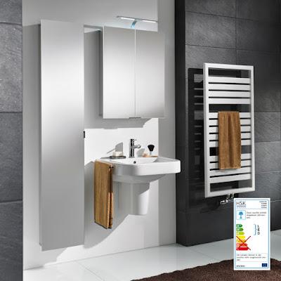 Armoires de toilette_Alu Spiegelschrank ASP 300 LED Milieu 2
