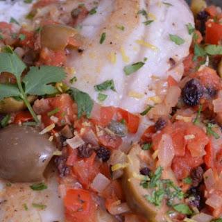Pacific Rockfish Veracruz Style Recipe