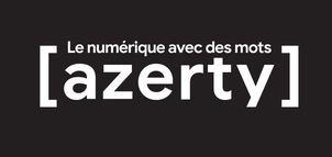 Azerty le Numerique Avec des Mots Logo