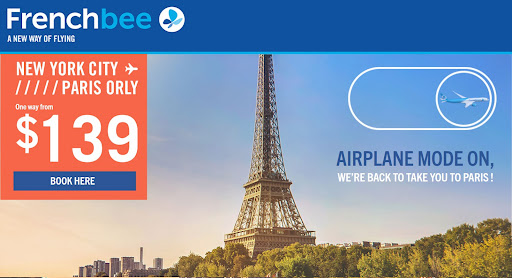 With French bee, favor comfort for your next long distance flight (and your budget)