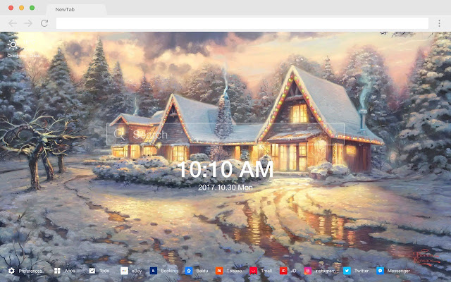 Cottage New Tab Page HD Wallpapers Themes
