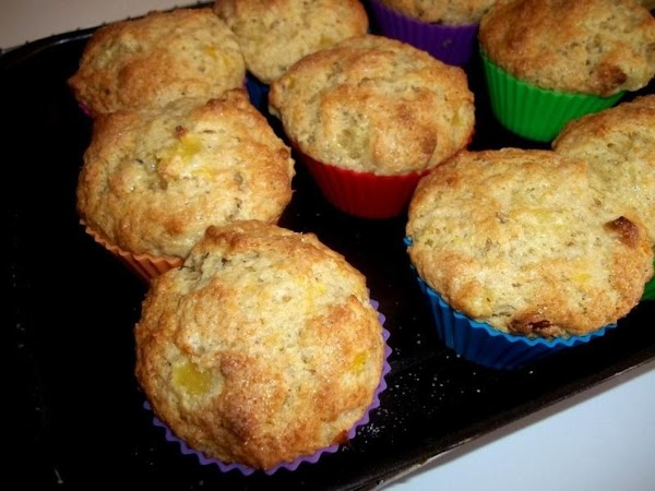 Remove from oven, cool for a few minutes then remove muffins and either serve...