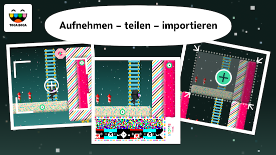 Toca Blocks Screenshot