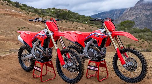 Las renovadas Honda CRF250R y CRF250RX llegaran en septiembre a Motomoción AF