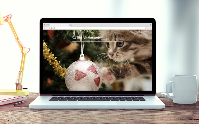 Christmas Kittens New Tab Theme