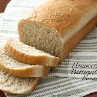 HOMEMADE BUTTERMILK BREAD.