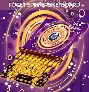 Fidget Spinners klávesnice - náhled