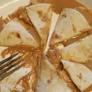 Peanut Butter Fiend Quesadillas