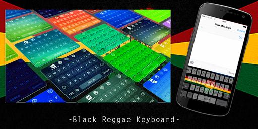 Black Reggae Keyboard