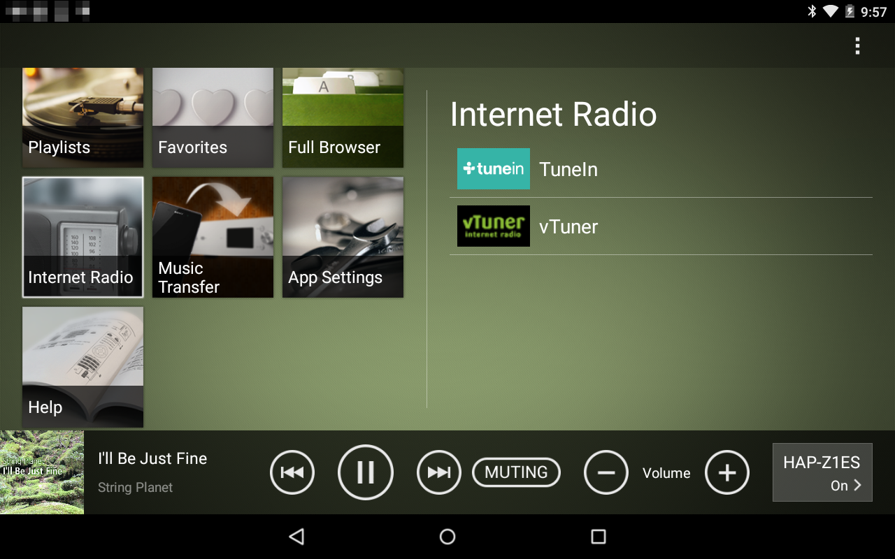 HDD Audio Remote- screenshot