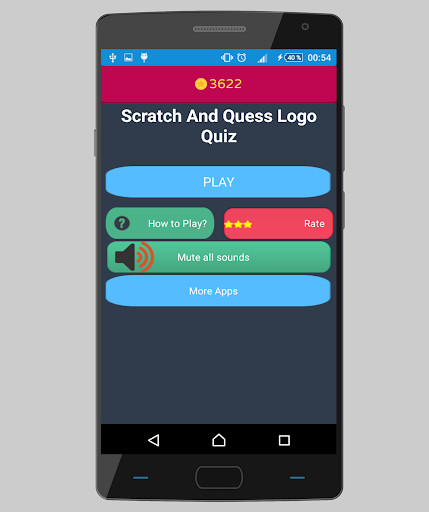 Scratch and guess logo quiz