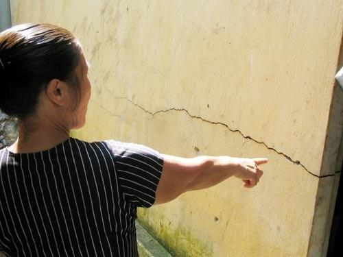 tường nhà nứt do móng