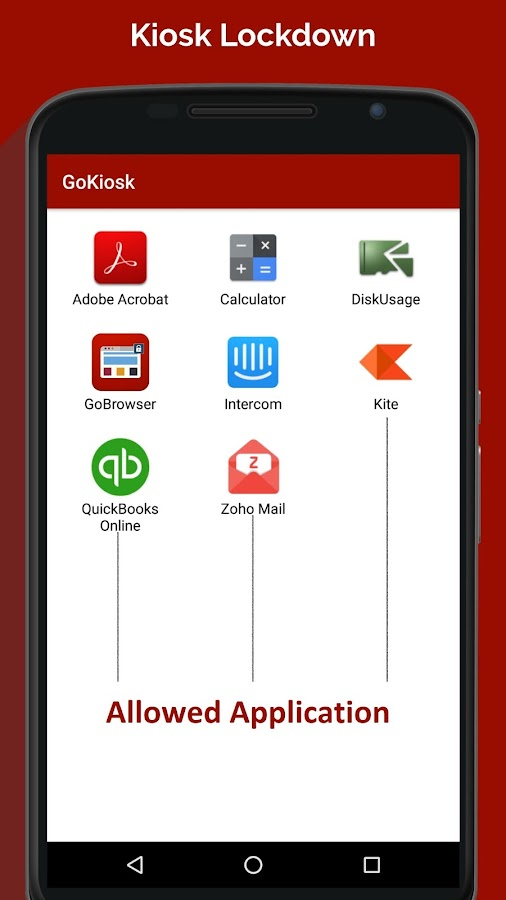 Gokiosk - Kiosk Lockdown Android- screenshot