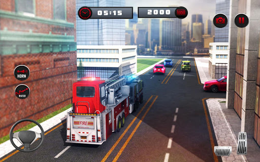 ? Rescue Fire Truck Simulator: 911 City Rescue 1.3 screenshots 10