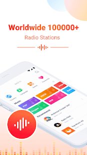 Smart Radio FM - Free Music, Internet & FM radio poster