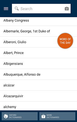 Oxford Dictionary of History - screenshot