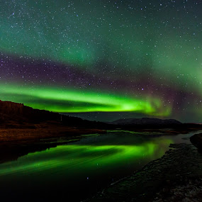 National Park Thingvellir Iceland by Guðmundur Hjörtur - Landscapes Starscapes