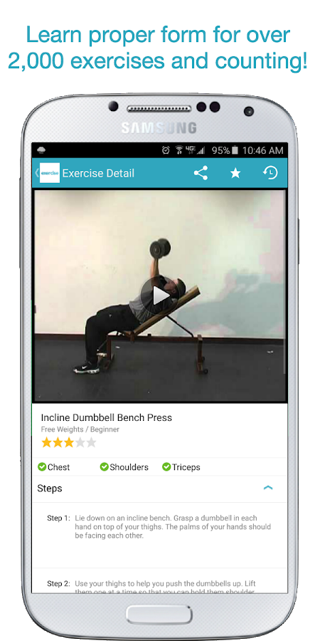 Exercise.com- screenshot