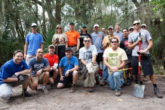 Photo: a worthy trail crew
