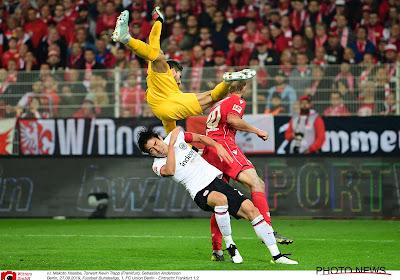 La star de l'Eintracht Francfort manquera les deux matches face au Standard