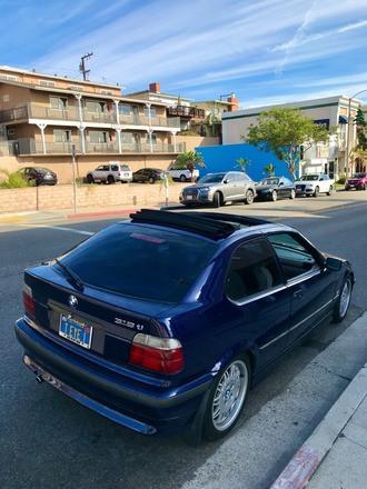 BMW 318ti California Edition Hire CA