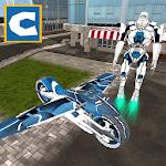 Flying Robot Bike Simulator Icon
