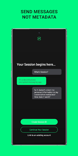 Session - Private Messenger screenshots 4