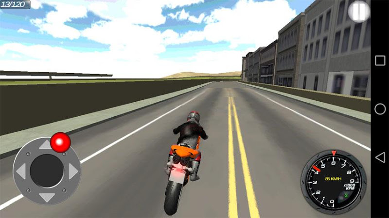 Скриншот The City Мотоциклисты