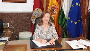 La alcaldesa de Huércal-Overa, Francisca Fernández.