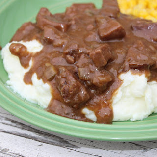 Easy Beef Tips And Gravy.