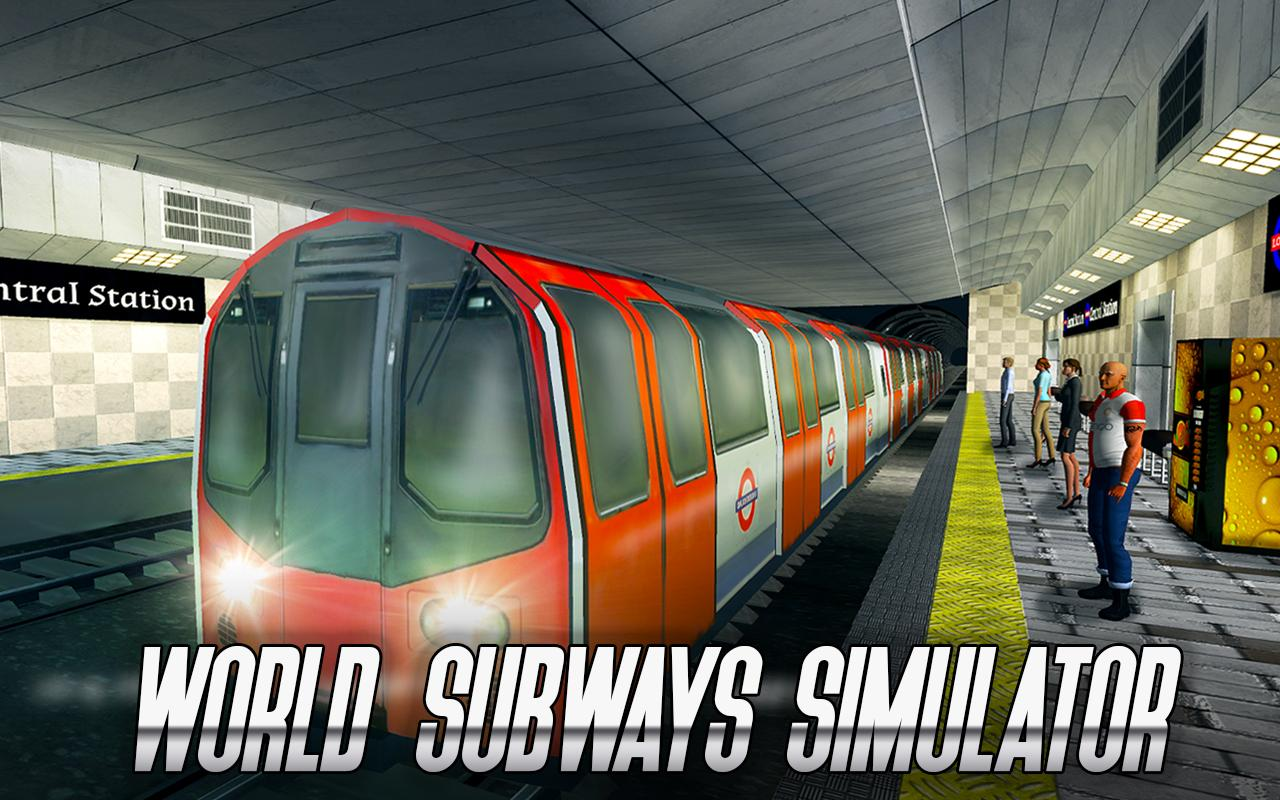 World Subways Simulator- screenshot