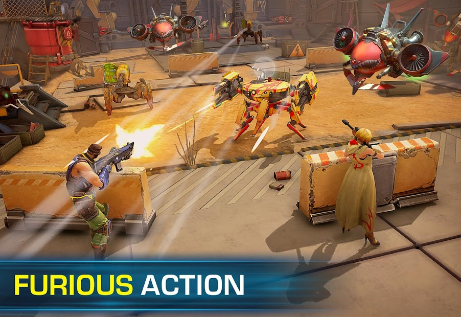 Evolution 2: Battle for Utopia. Action shooter Android App Screenshot