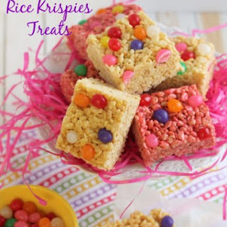 Jelly Bean Rice Krispies Treats