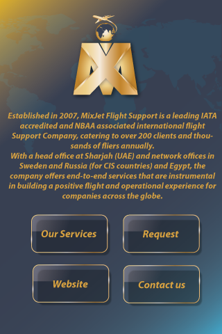 MixJet Flight Support- screenshot