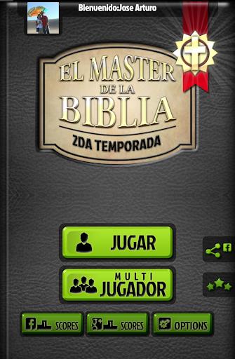 El Master de la Biblia Trivia 14.1.0 Searching Questions screenshots 1