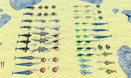Sea Animal Kingdom: War Simulator 1.0.5 Latest MOD Updated 3