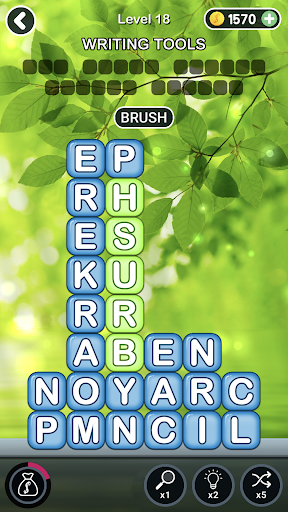 Word Blocks Connect Stacks: Word Search Crush Game 1.16.1 screenshots 1