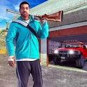 Crime Car City Gangster Shooting icon